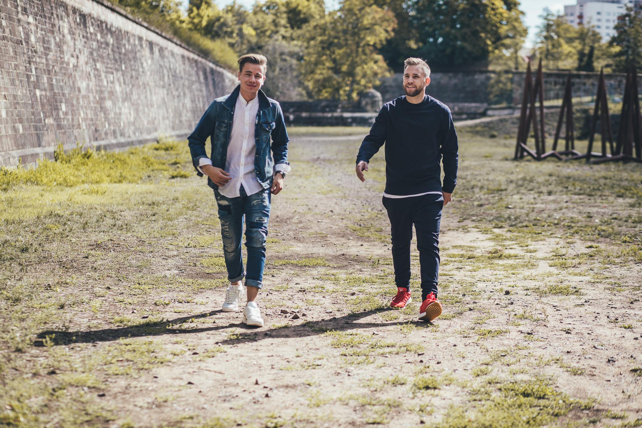 Die beiden Produzenten Eroc Philippi & Eike Staab